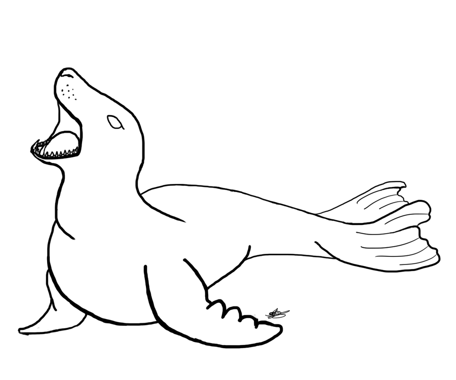 seal drawing seal images to draw yahoo image search results med drawing seal