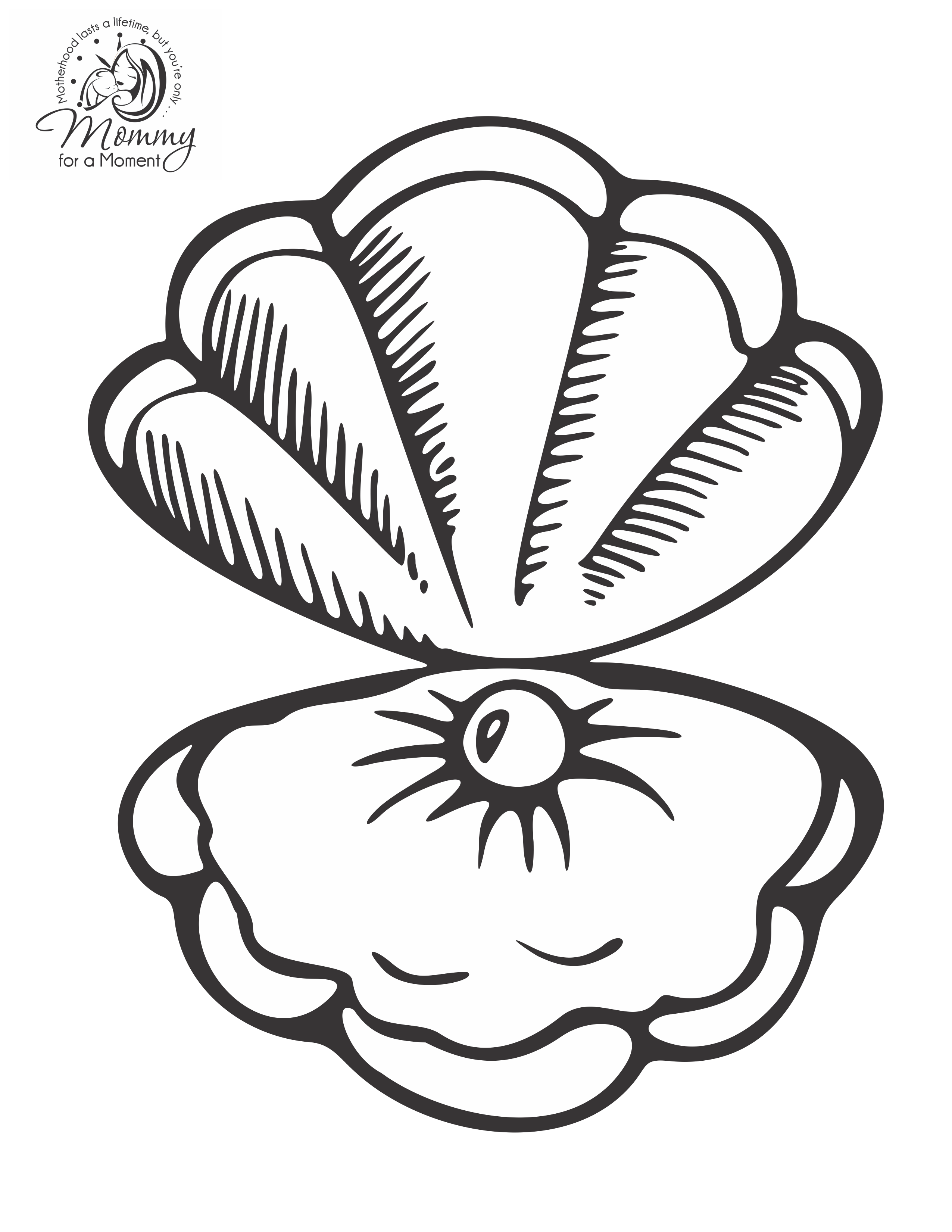 seashell coloring page beach shells coloring pages download and print for free coloring page seashell