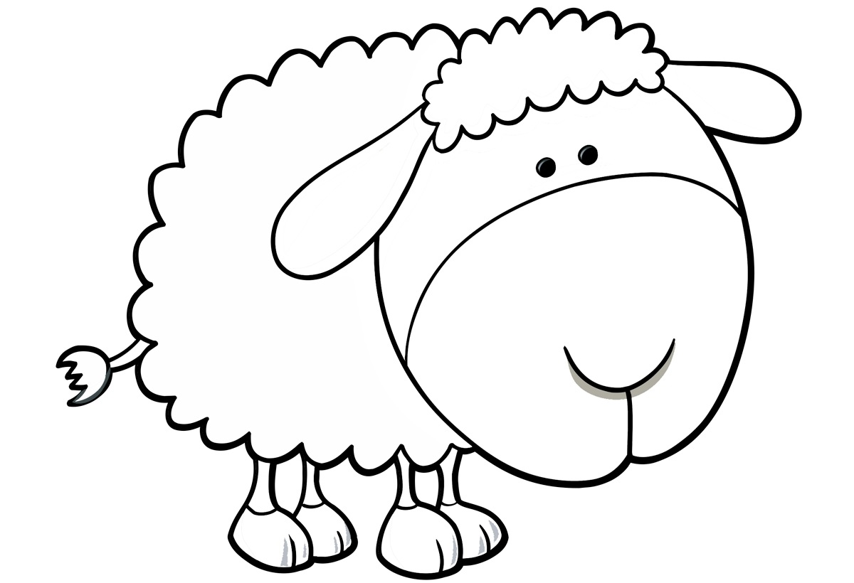 sheep coloring pages sheep coloring pages coloring pages sheep