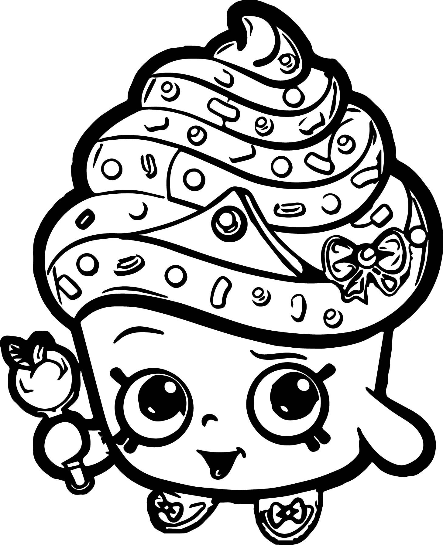 shopkins cupcake coloring pages cupcake queen shopkins coloring pages cupcake pages coloring shopkins