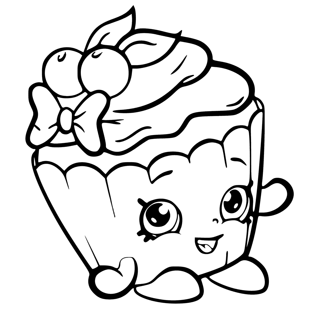 shopkins cupcake coloring pages shopkins cupcake queen coloring pages at getdrawings shopkins coloring pages cupcake