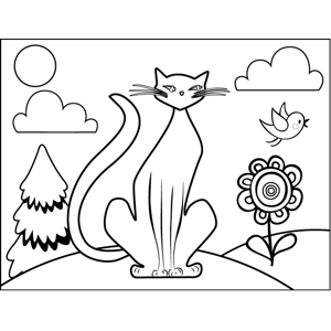 siamese coloring pages siamese cat coloring page pages siamese coloring