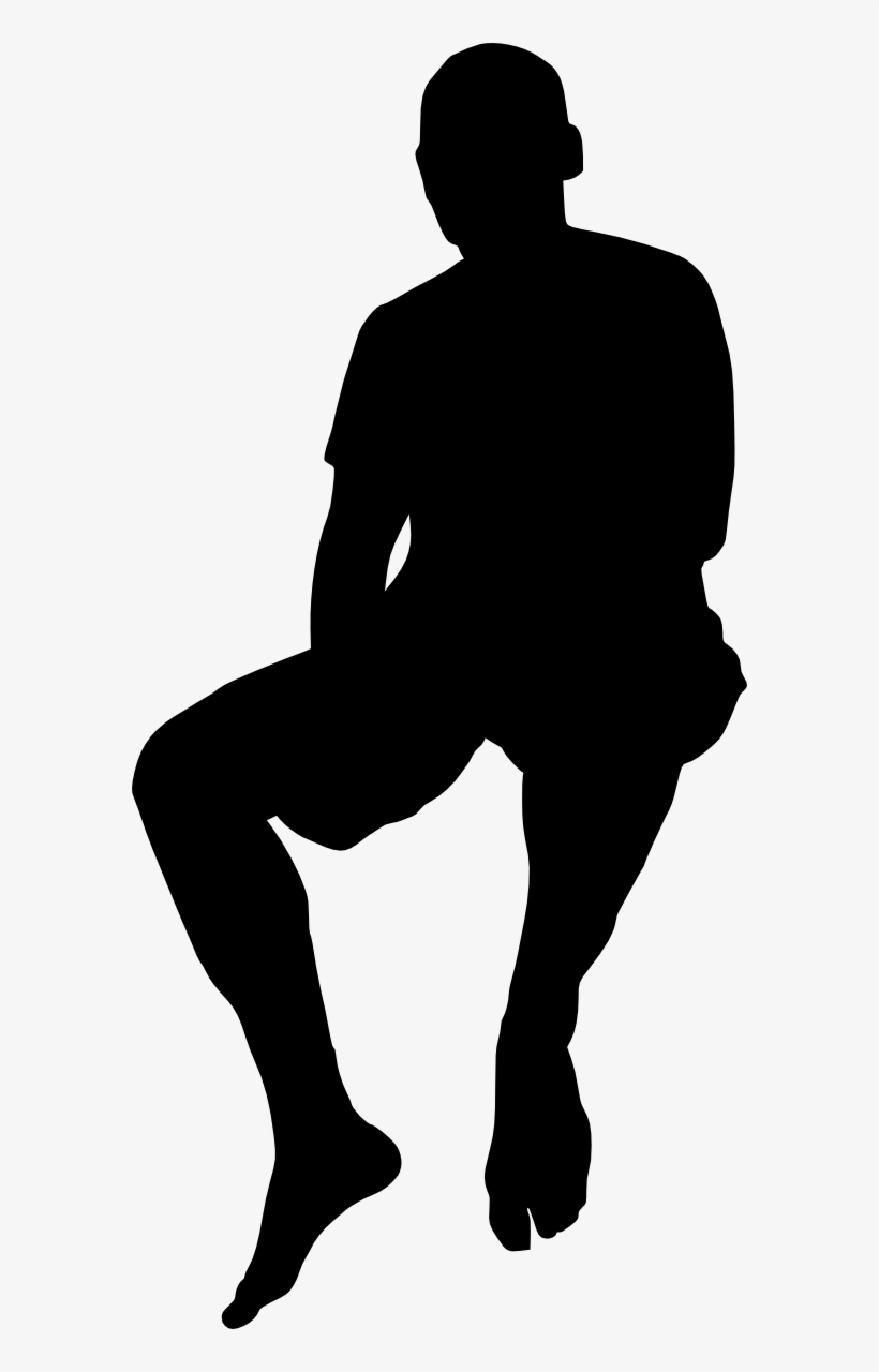 silhouette of a person sitting free download person sitting silhouette png png image sitting a person silhouette of
