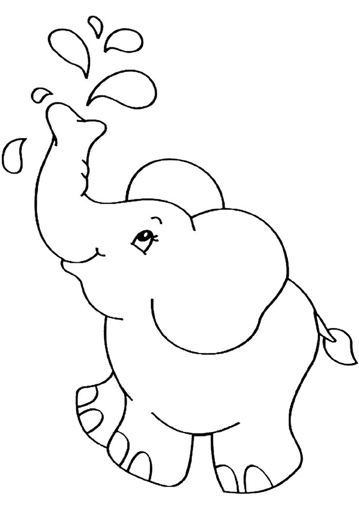 simple baby elephant coloring pages 21 of the best ideas for baby elephant coloring page baby coloring simple elephant pages