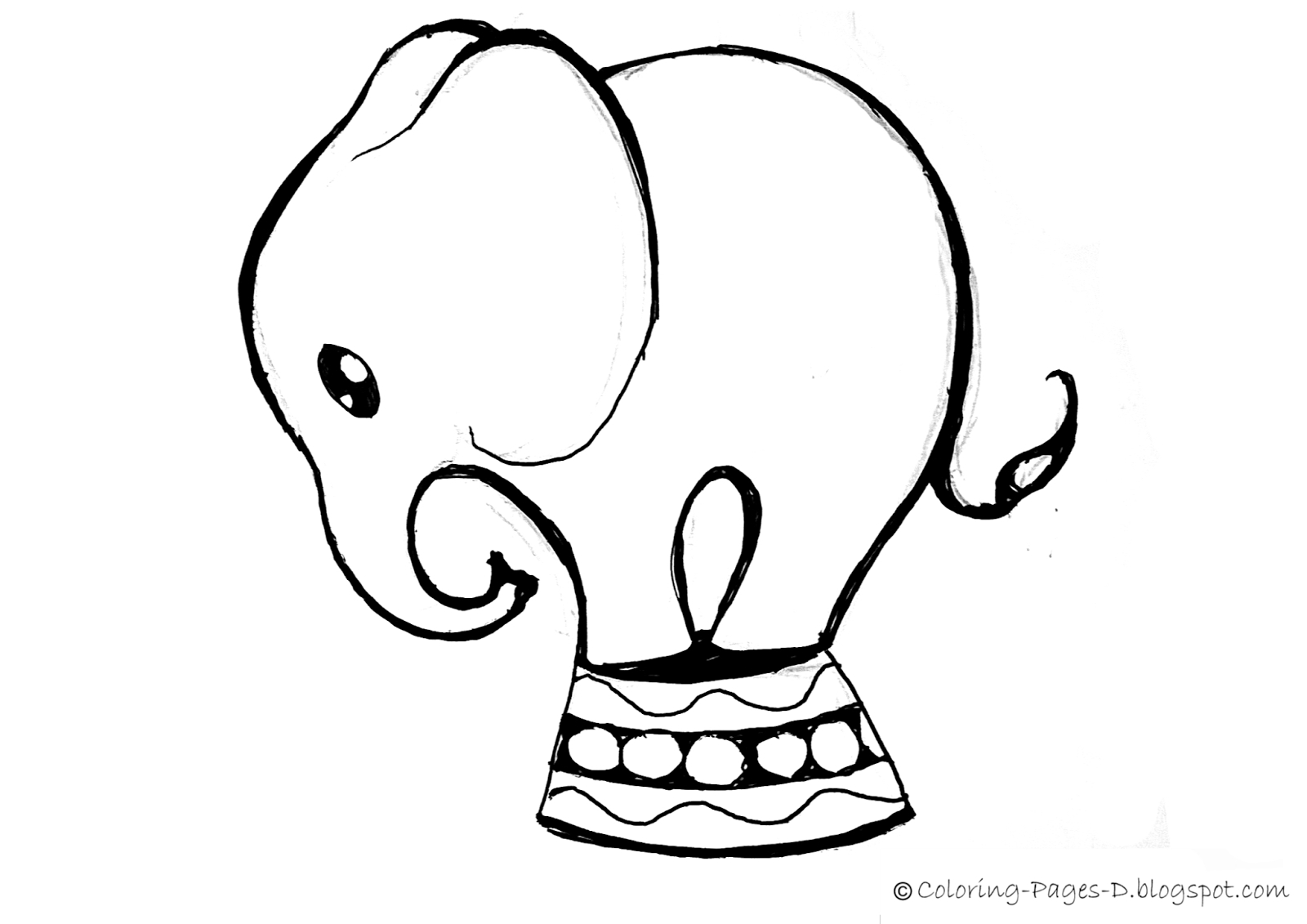 simple baby elephant coloring pages animal coloring pages for kids elephant coloring page baby pages coloring elephant simple