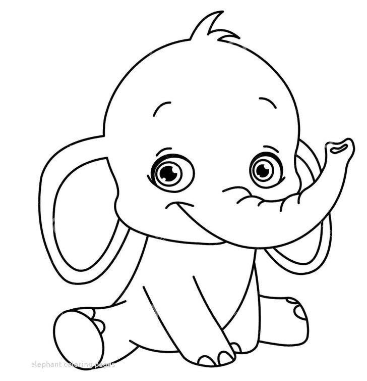 simple baby elephant coloring pages baby elephant coloring pages ba elephant coloring page simple coloring elephant pages baby
