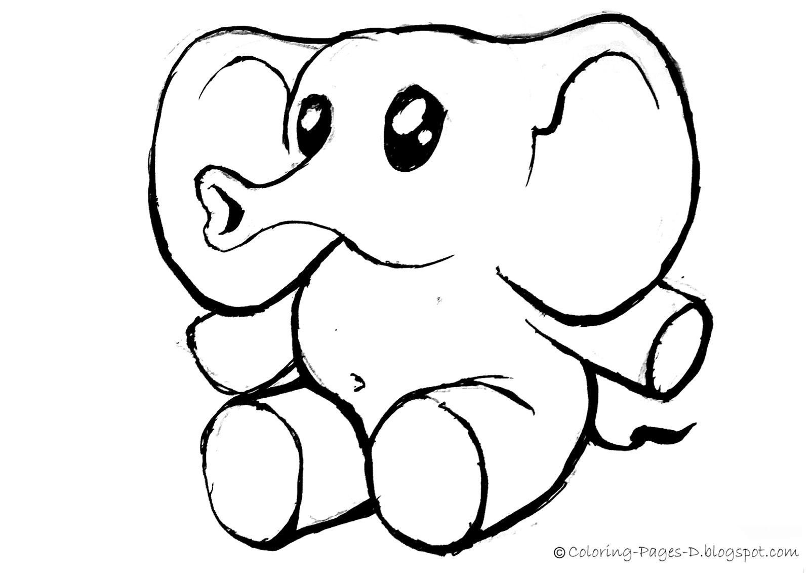 simple baby elephant coloring pages beautiful elephant in the jungle coloring pages elephant coloring pages simple baby