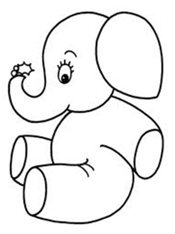 simple baby elephant coloring pages elephant lovers elephantlovers instagram posts baby simple coloring elephant pages