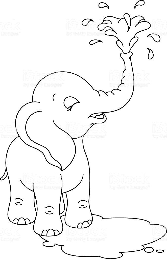 simple baby elephant coloring pages simple baby elephant coloring pages simple coloring baby pages elephant