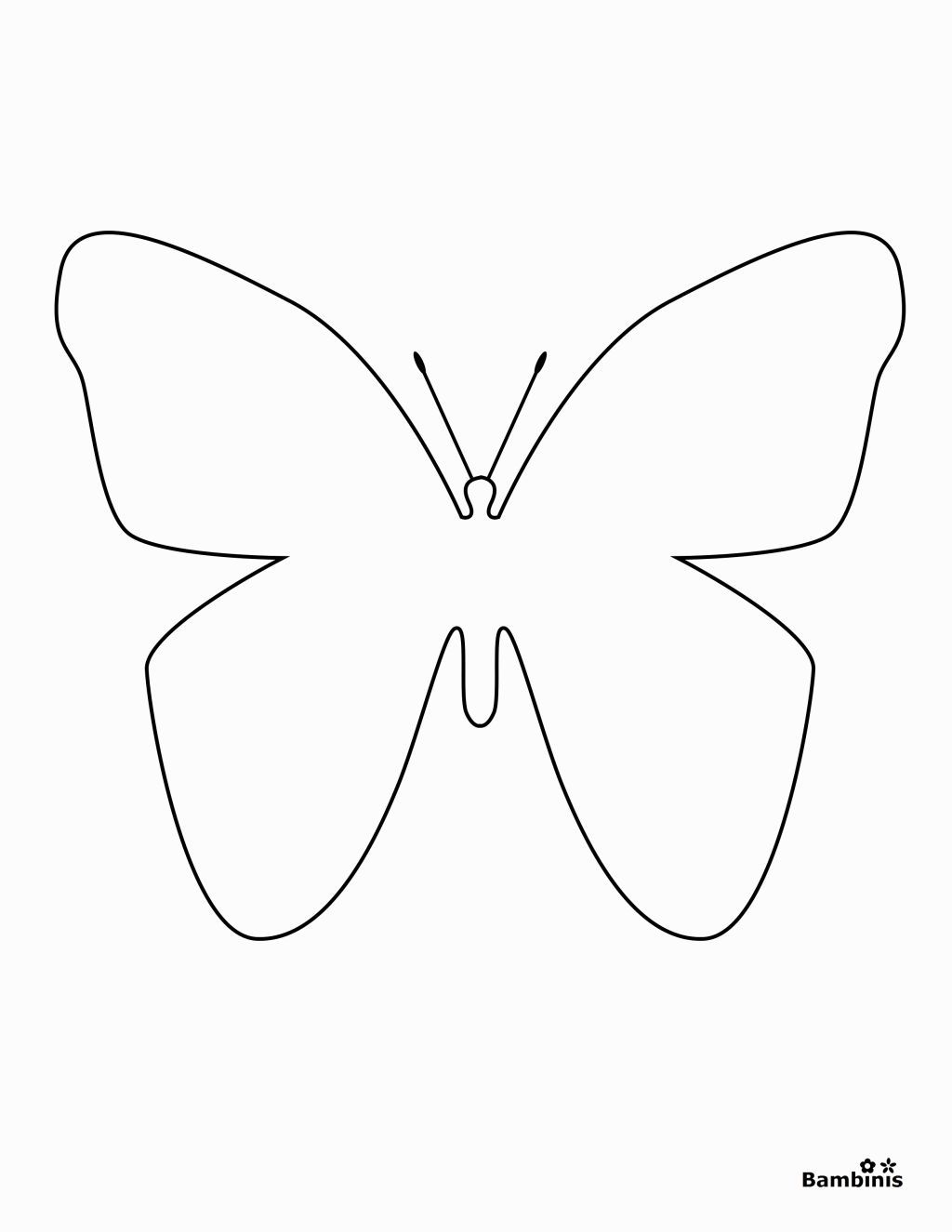 simple easy butterfly coloring pages butterflies to color for kids butterflies kids coloring simple pages easy butterfly coloring