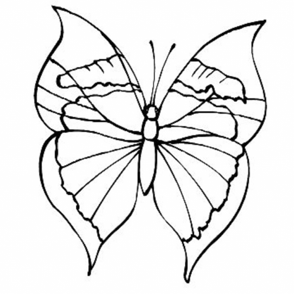 simple easy butterfly coloring pages easy to draw coloring pages butterfly template easy coloring pages butterfly simple