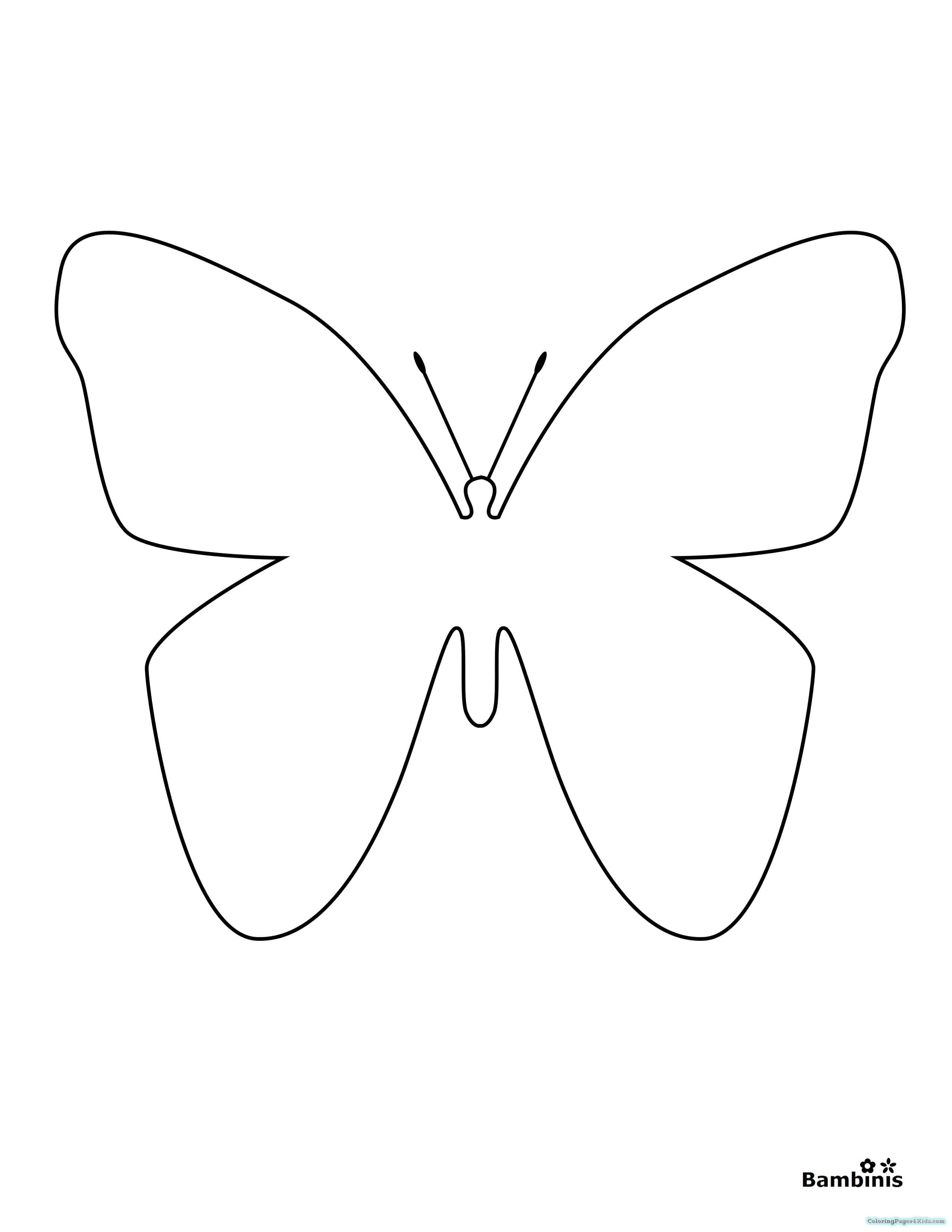 simple easy butterfly coloring pages fresh coloring pages butterfly for you easy coloring butterfly simple easy pages coloring