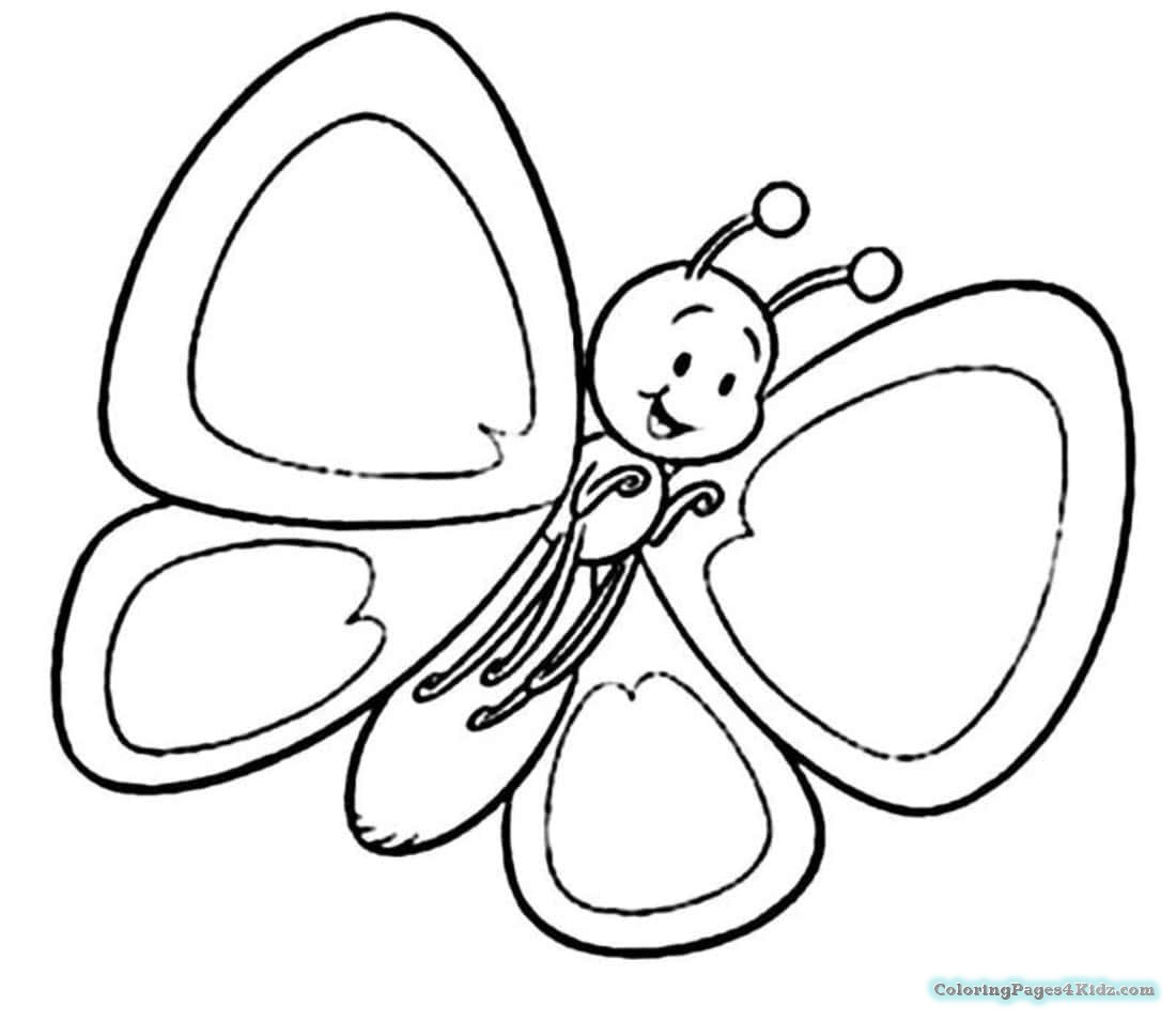 simple easy butterfly coloring pages silly butterfly coloring page easy butterfly simple pages coloring