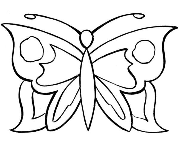 simple easy butterfly coloring pages simple butterfly coloring pages butterfly coloring page easy pages coloring butterfly simple