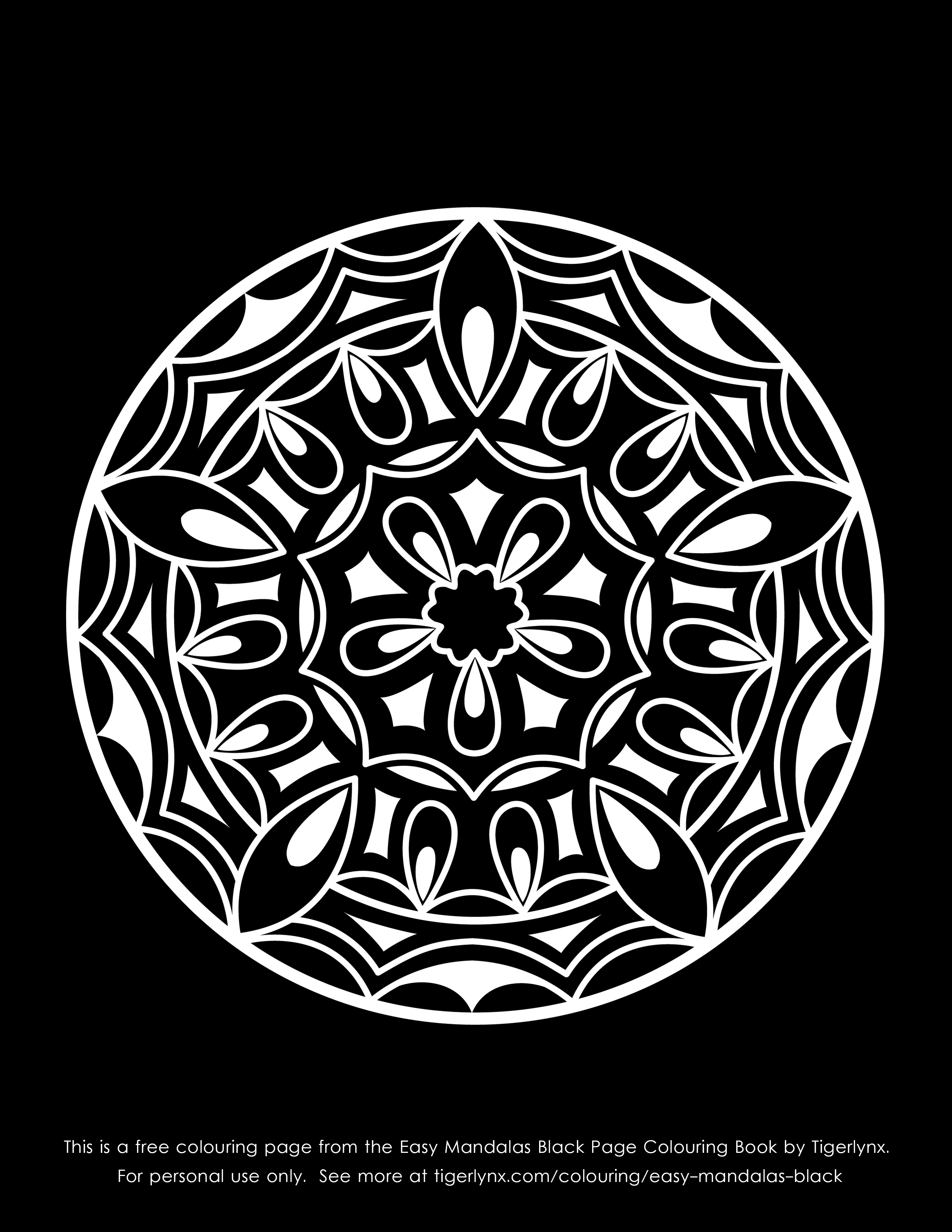 simple mandalas colouring books and pages mandalas simple