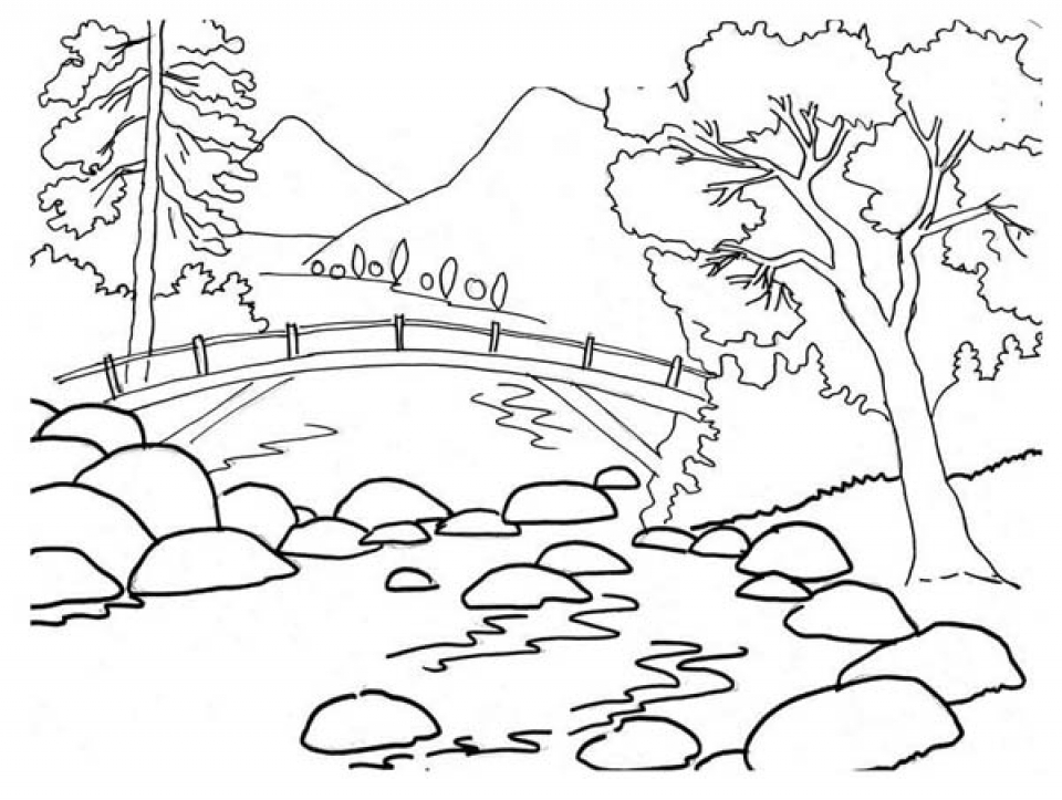 simple nature coloring pages get this easy preschool printable of nature coloring pages nature coloring simple pages