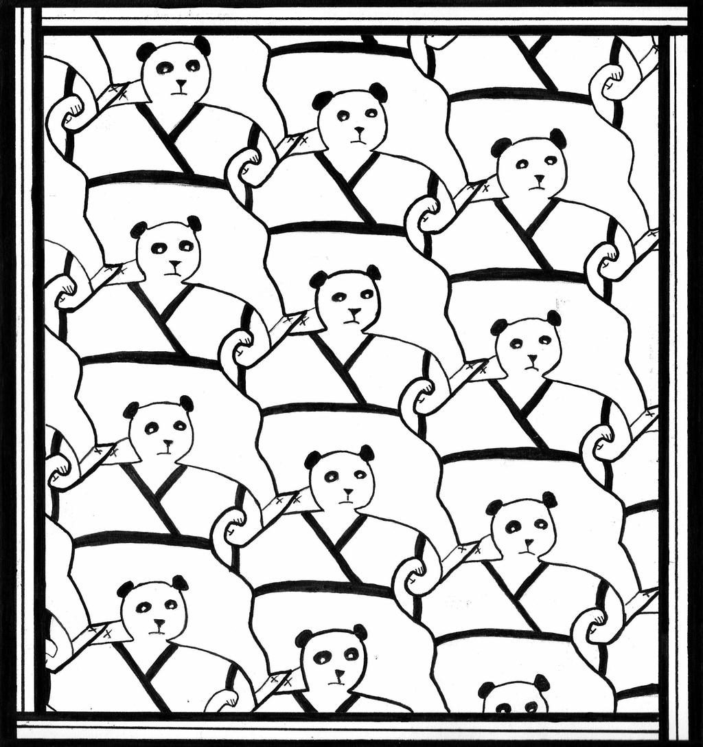 simple tessellation worksheets escher coloring pages printable coloring pages tessellation worksheets simple