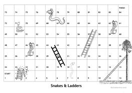 snakes and ladders printable 29 free esl snakes and ladders worksheets and ladders printable snakes