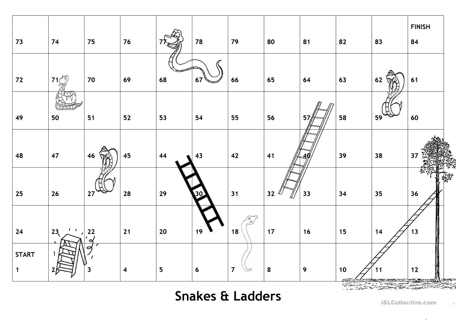 snakes and ladders printable snake ladder ludo print play stock illustration ladders and printable snakes