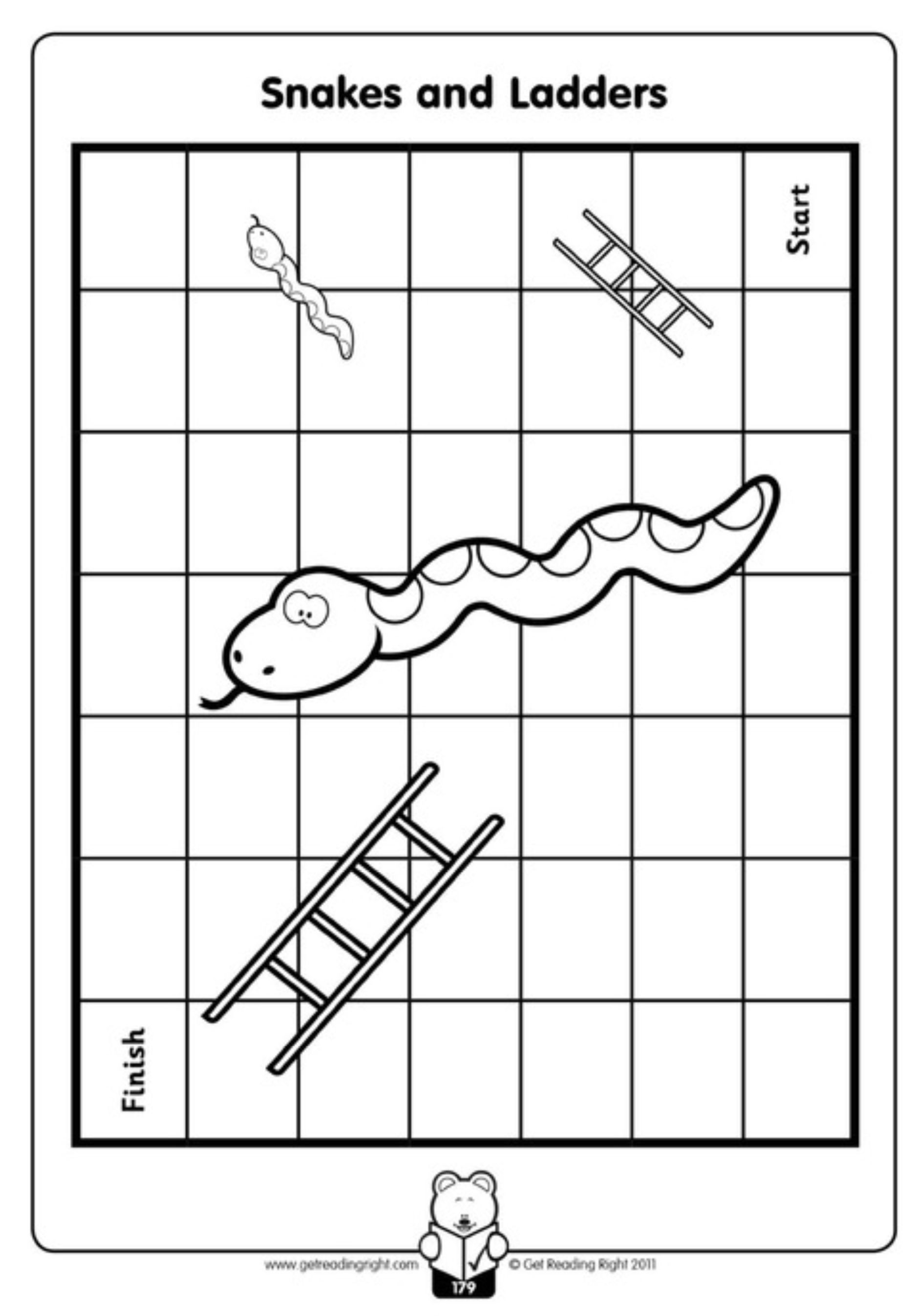 snakes and ladders printable snakes and ladders board game reading group activities printable snakes and ladders