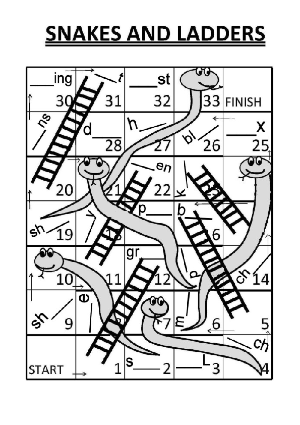snakes and ladders printable underwater snakes and ladders a4 printable coloring page ladders snakes and printable
