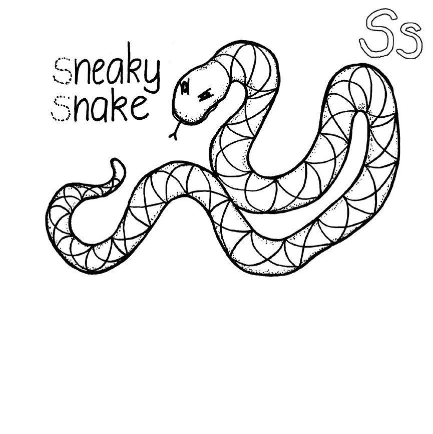 snakes to color angry snake drawing at getdrawings free download color to snakes