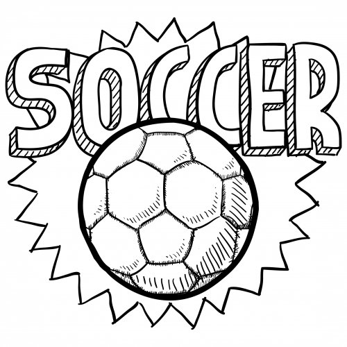 soccer pictures to color soccer player coloring pages soccer to color pictures