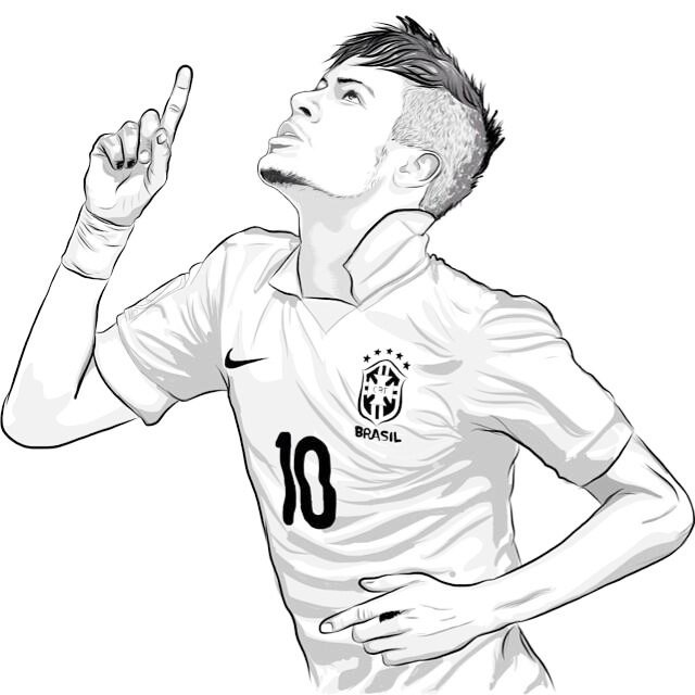 soccer player colouring pages a boy playing soccer in a stripe jersey coloring page colouring pages player soccer