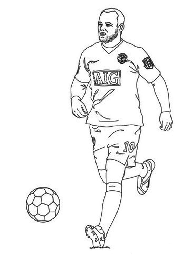 soccer player colouring pages printable football player coloring pages for kids pages soccer player colouring