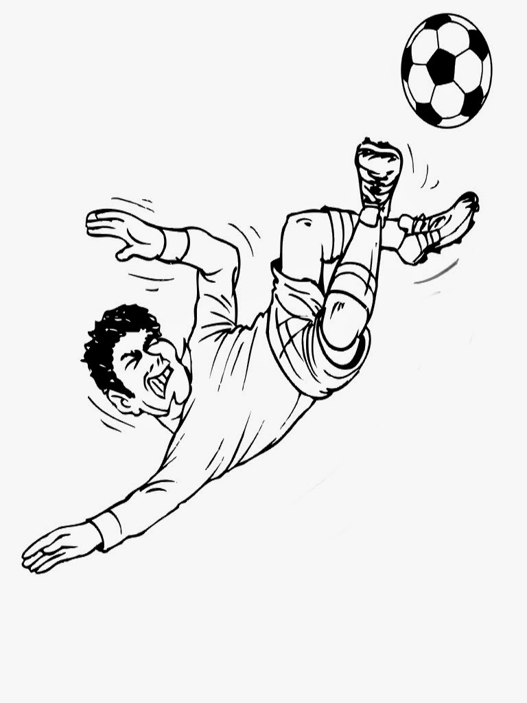 soccer player colouring pages printable football player coloring pages for kids soccer player pages colouring