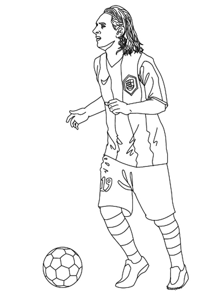 soccer player colouring pages printable soccer player coloring pages realistic colouring pages soccer player