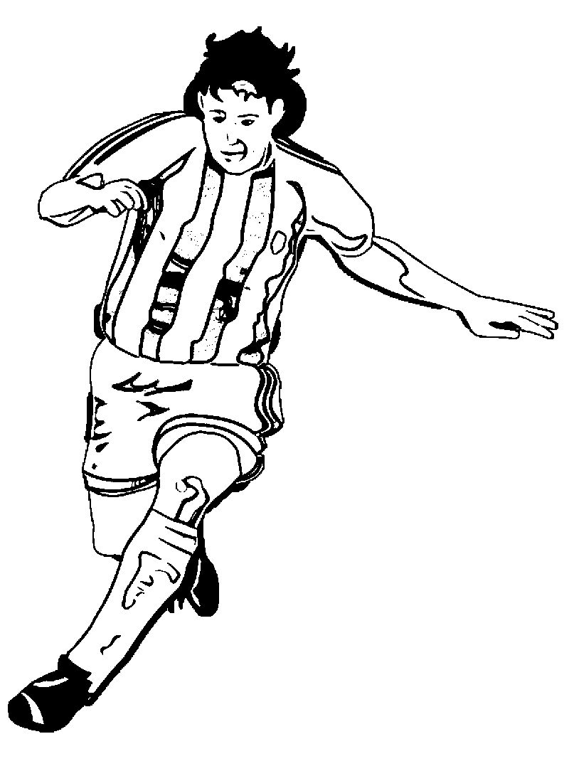 soccer player colouring pages soccer player coloring pages pages soccer player colouring