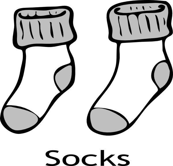 sock coloring page 2 pairs of socks coloring page coloring page sock