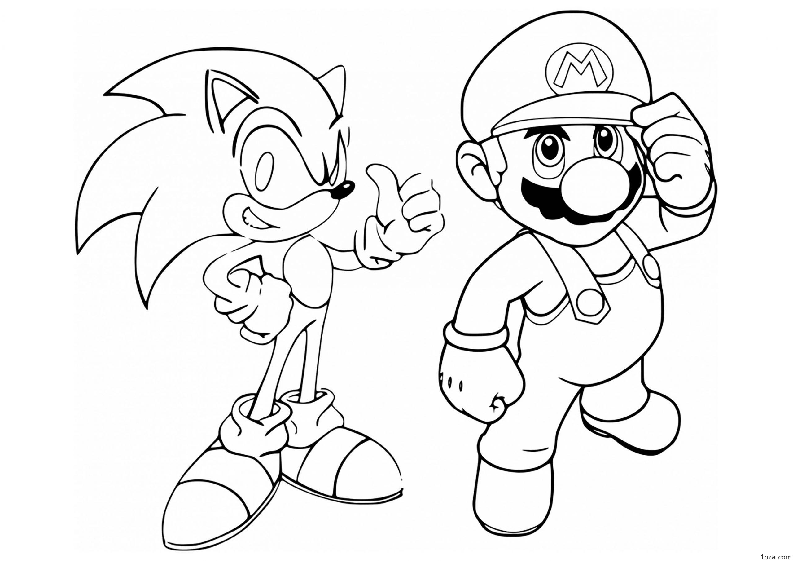 sonic the hedgehog printable coloring pages sonic coloring pages team colors hedgehog printable sonic coloring the pages