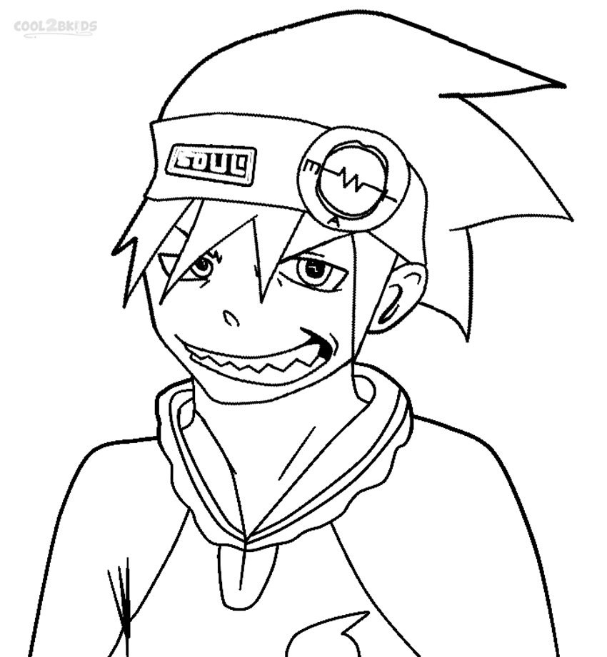 soul eater colouring pages printable soul eater coloring pages for kids cool2bkids soul colouring eater pages