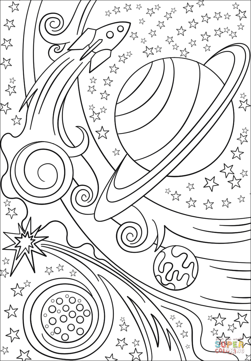 space printable coloring pages astronaut outer space coloring page coloring home pages space coloring printable