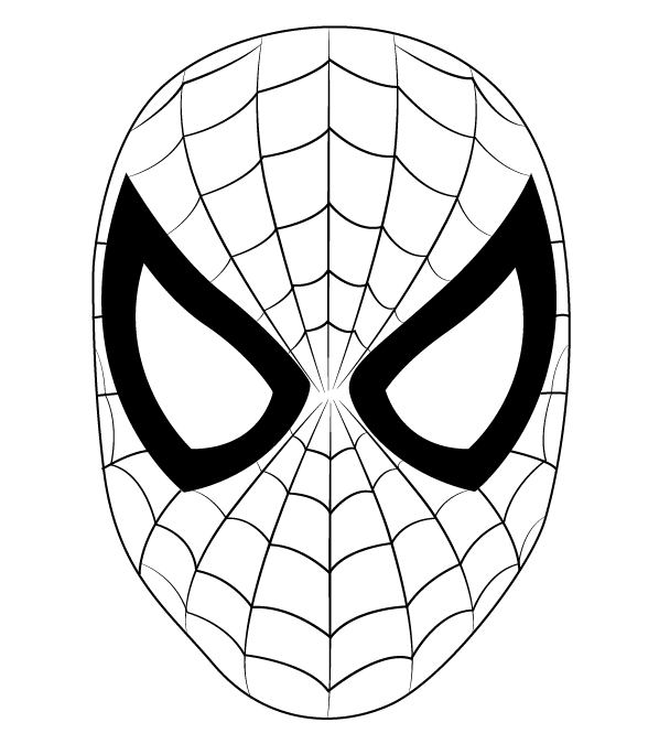 spiderman traceable coloring pictures of spiderman pictures gallery show spiderman traceable