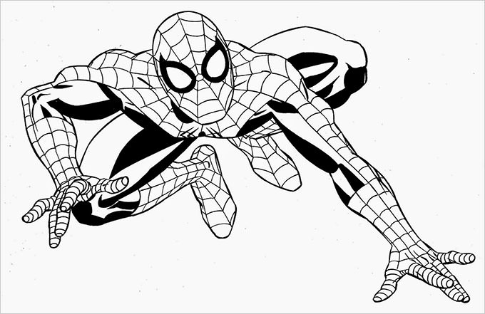 spiderman traceable free printable spiderman images to color of your favorite spiderman traceable