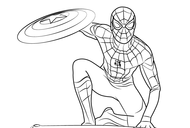 spiderman traceable spider man pencil drawing at getdrawings free download spiderman traceable