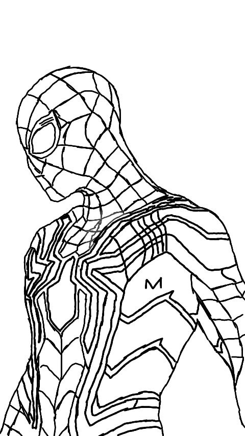 spiderman traceable spiderman coloring pages printables spiderman coloring spiderman traceable