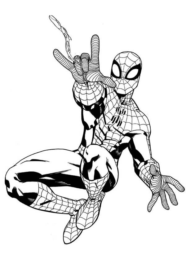 spiderman web coloring pages online free coloring pages for kids coloring sun part 25 web spiderman coloring pages