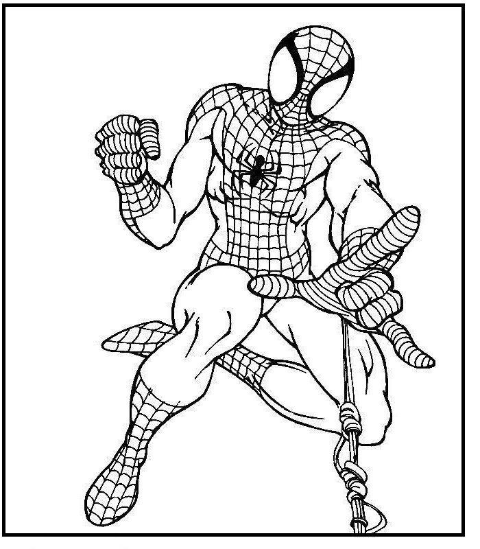 spiderman web coloring pages spiderman web shooting coloring pages for kids in 2020 web pages coloring spiderman