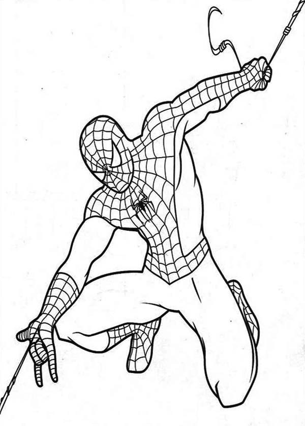 spiderman web coloring pages spiderman39s webs coloring page nice coloring page for coloring spiderman pages web