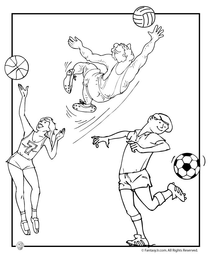 sports day colouring madi illustration monster sports day day sports colouring