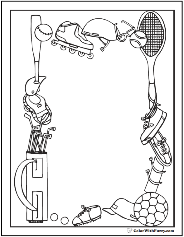 sports day colouring printable football player coloring pages for kids colouring day sports