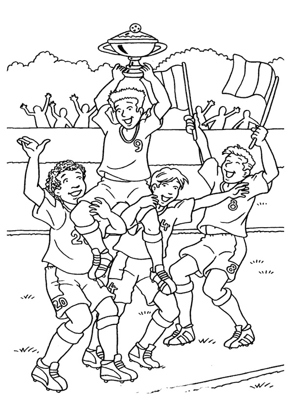 sports day colouring soccer coloring pages 5 coloring kids colouring day sports