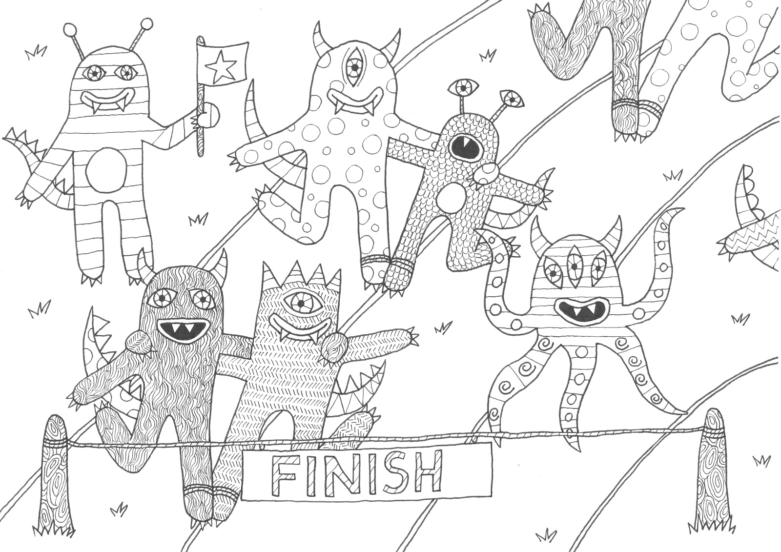 sports day colouring sports coloring pages painting drawing colouring day sports