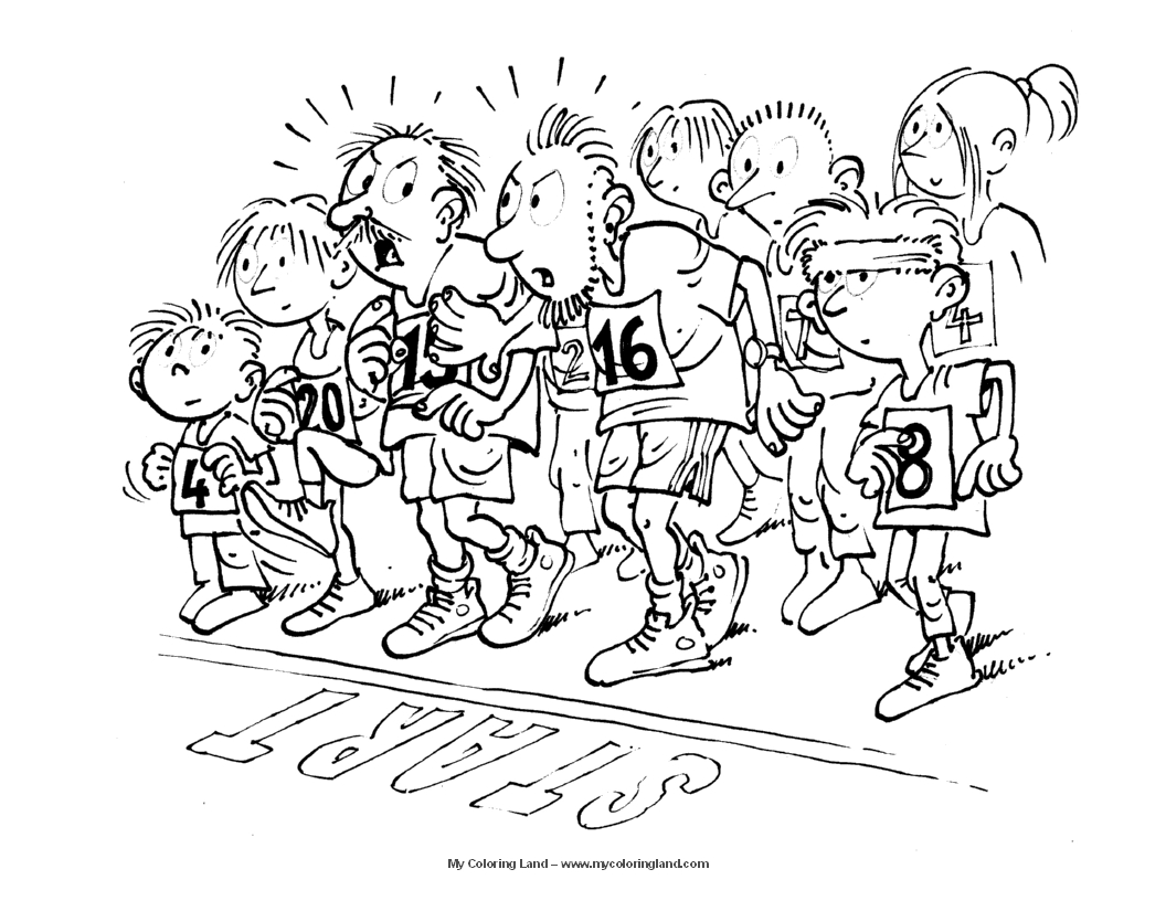 sports day colouring spring activity coloring page 15 spring biking coloring colouring day sports