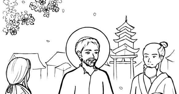 st francis xavier coloring page 32 st francis of assisi coloring page in 2020 saint st xavier page coloring francis