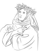 st francis xavier coloring page saint francis xavier coloring pages coloring pages st francis coloring page xavier